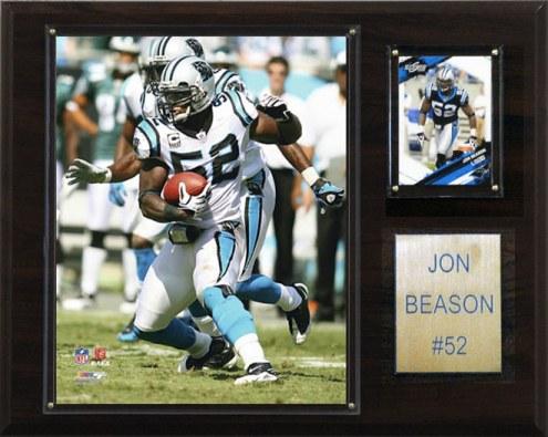 "Carolina Panthers Jon Beason 12 x 15"" Player Plaque"