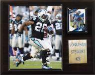 "Carolina Panthers Jonathan Stewart 12 x 15"" Player Plaque"