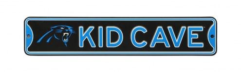 Carolina Panthers Kid Cave Street Sign