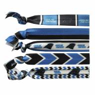 Carolina Panthers Knotted Hair Tie