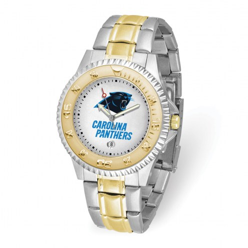 Carolina Panthers Competitor Two-Tone Men's Watch