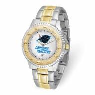 Carolina Panthers Competitor Two-Tone Men's Watch