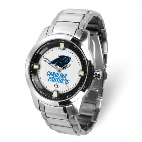 Carolina Panthers Titan Steel Men's Watch