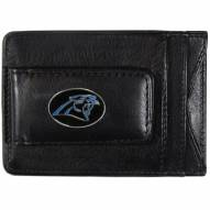 Carolina Panthers Leather Cash & Cardholder