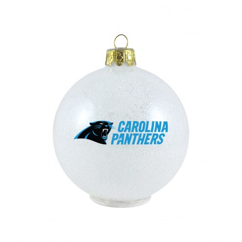 Carolina Panthers LED Color Changing Ball Ornament