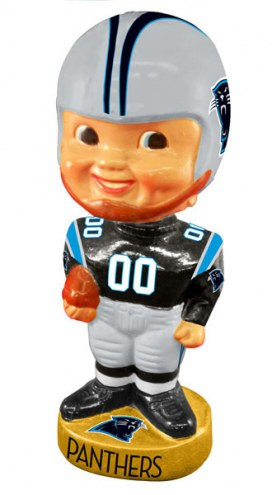 Carolina Panthers Legacy Football Bobble Head