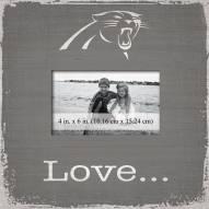 Carolina Panthers Love Picture Frame