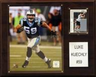 "Carolina Panthers Luke Kuechly 12"" x 15"" Player Plaque"