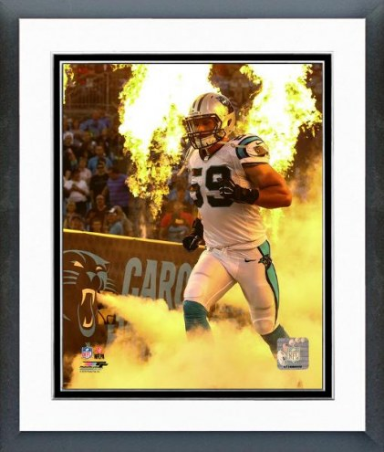 Carolina Panthers Luke Kuechly 2015 Action Framed Photo