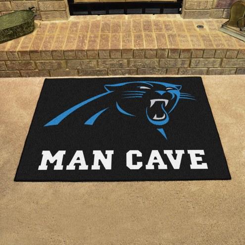 Carolina Panthers Man Cave All-Star Rug