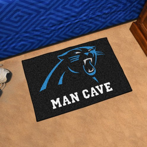 Carolina Panthers Man Cave Starter Mat