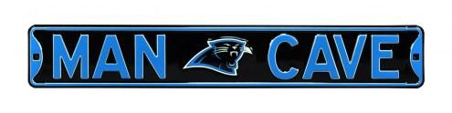 Carolina Panthers Man Cave Street Sign