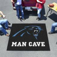 Carolina Panthers Man Cave Tailgate Mat