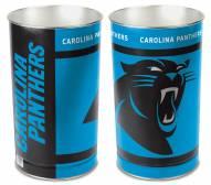 Carolina Panthers Metal Wastebasket