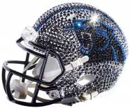 Carolina Panthers Mini Swarovski Crystal Football Helmet