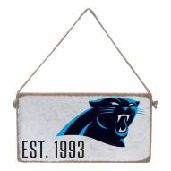 Carolina Panthers Mini Plank