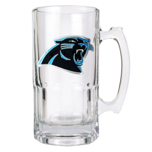 Carolina Panthers NFL 1 Liter Glass Macho Mug