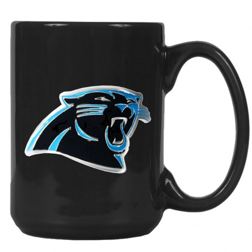 Carolina Panthers NFL 2-Piece Ceramic Coffee Mug Set