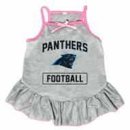 Carolina Panthers NFL Gray Dog Dress