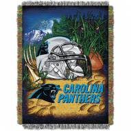 Carolina Panthers NFL Woven Tapestry Throw