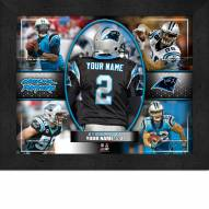 Carolina Panthers Personalized 11 x 14 Framed Action Collage