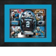 Carolina Panthers Personalized 13 x 16 Framed Action Collage