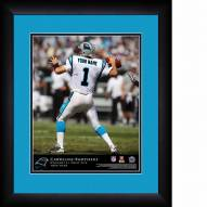 Carolina Panthers Personalized 13 x 16 NFL Action QB Framed Print