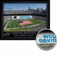 Carolina Panthers 11 x 14 Personalized Framed Stadium Print