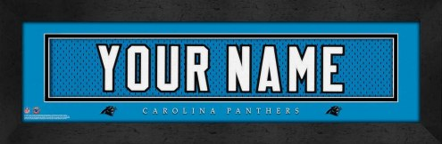 Carolina Panthers Personalized Stitched Jersey Print