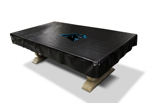 Carolina Panthers Pool Table Cover