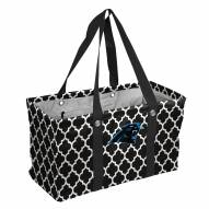 Carolina Panthers Quatrefoil Picnic Caddy