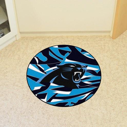 Carolina Panthers Quicksnap Rounded Mat
