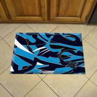 Carolina Panthers Quicksnap Scraper Door Mat