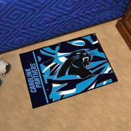 Carolina Panthers Quicksnap Starter Rug