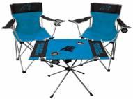 Carolina Panthers Table & Chairs Set