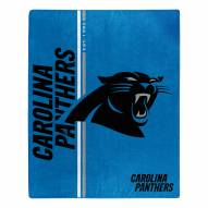 Carolina Panthers Restructure Raschel Blanket