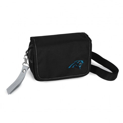 Carolina Panthers Ribbon Waist Pack Purse