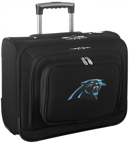 Carolina Panthers Rolling Laptop Overnighter Bag