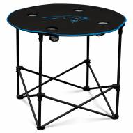Carolina Panthers Round Folding Table