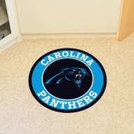 Carolina Panthers Rounded Mat