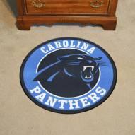 Carolina Panthers Rounded Mat