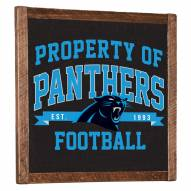 Carolina Panthers Vintage Wall Art