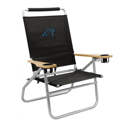 Carolina Panthers Seaside Beach Chair