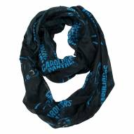 Carolina Panthers Sheer Infinity Scarf