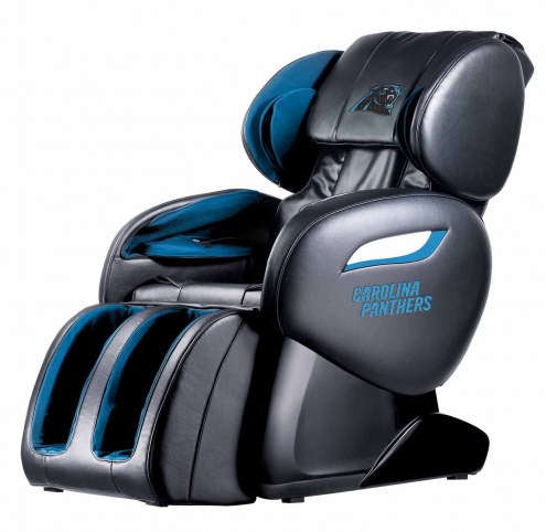 Carolina Panthers Shiatsu Zero Gravity Massage Chair