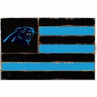 Carolina Panthers Small Flag Wall Art