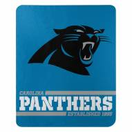 Carolina Panthers Split Wide Fleece Blanket