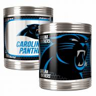 Carolina Panthers Stainless Steel Hi-Def Coozie Set