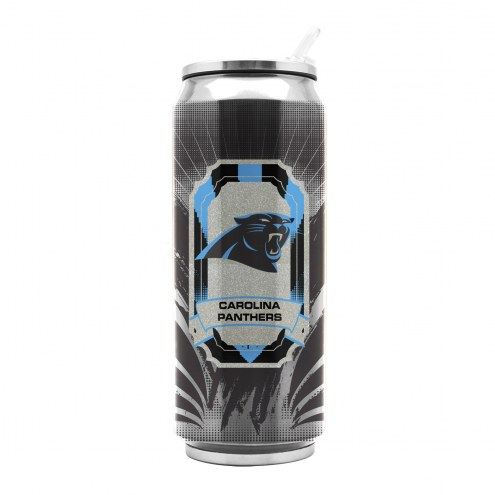 Carolina Panthers Stainless Steel Thermo Can