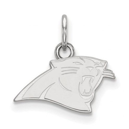Carolina Panthers Sterling Silver Extra Small Pendant